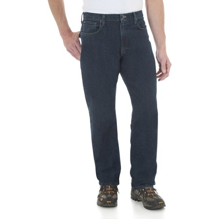 36a7ebe3 Wrangler - Men's Advanced Comfort Relaxed Fit Jean - Walmart.com