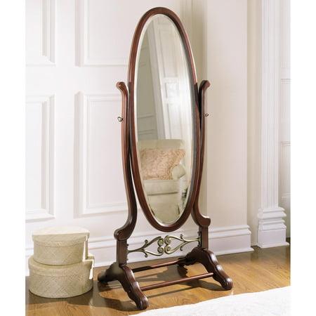Powell Heirloom Cherry Cheval Floor Mirror - 25.25W x 63H in ...