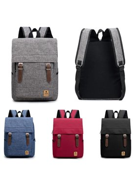 Oxford Backpack School Laptop Travel Rucksack Shoulder Bag Canvas Shoulder Bag