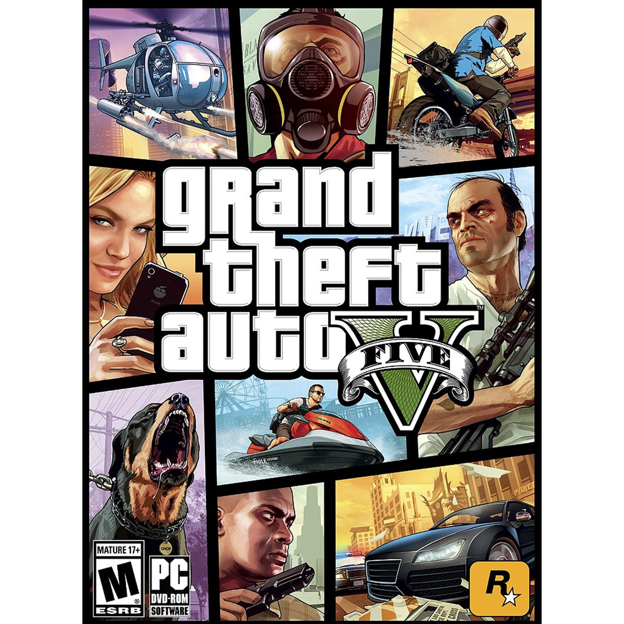 Grand Theft Auto V, Rockstar Games, PC, 710425414534