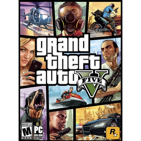 Next Level Pc Games (Grand Theft Auto V, Rockstar Games, PC, 710425414534)