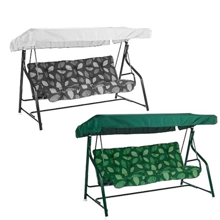 Asewin Durable Garden Anti-UV Swing Chair Canopy Spare Patio Cover Waterproof Replacement ()