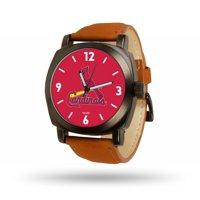 St. Louis Cardinals Sparo Brown Strap Watch