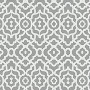 "Waverly Inspirations Cotton Duck 45"" Zebra Grey Fabric, per Yard"