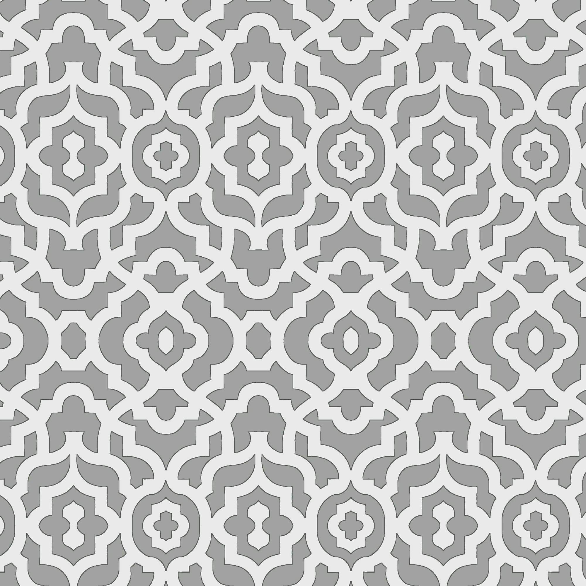 Waverly Inspirations LATTICE GREY 100% Cotton duck fabric, Quilting fabric, Home Decor ,45'', 180GSM