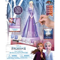 Disney Frozen II Paint Your Own 3D Elsa Sculpture