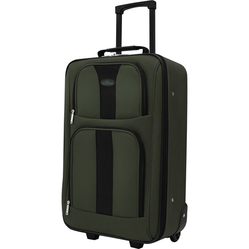 U.S. Traveler Carry-On Rolling Upright, Green