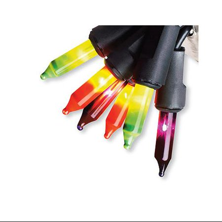 Halloween Flickering Mini Light Set, Multi-color, 50 Ct., Sienna, - Halloween Eyeball Lights