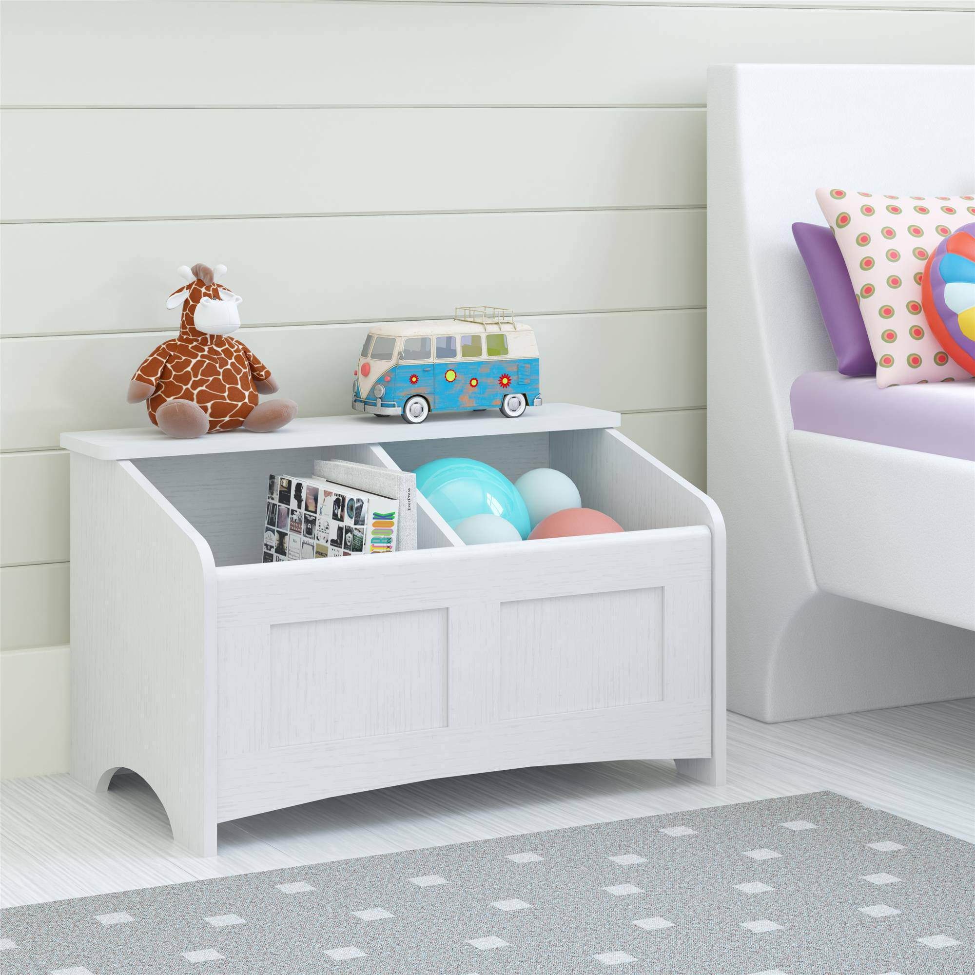 Toy Chest, Federal White