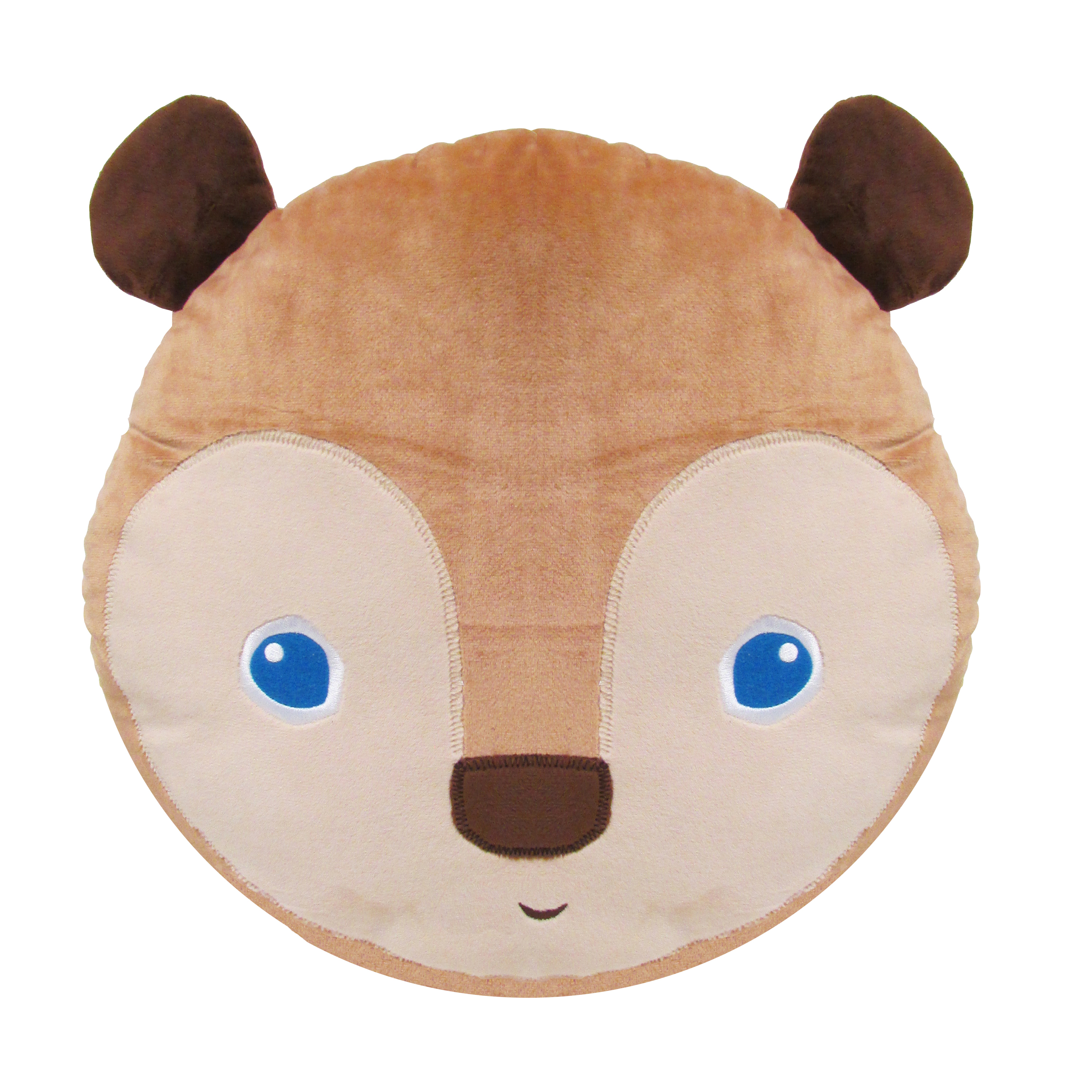 Eric Carle Plush Pillow with Pocket, Brown Bear