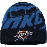 Oklahoma City Thunder New Era Logo Whiz Cuffed Knit Hat - Navy - OSFA
