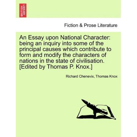 An  Essay Upon National Character - image 1 of 1