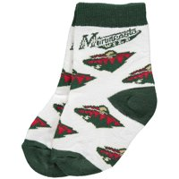 Product Image Minnesota Wild For Bare Feet Newborn   Infant 2-Pack Ankle  Socks - No Size 081e856fa