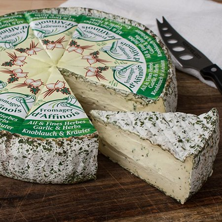 Fromager d'Affinois with Garlic and Herb (8