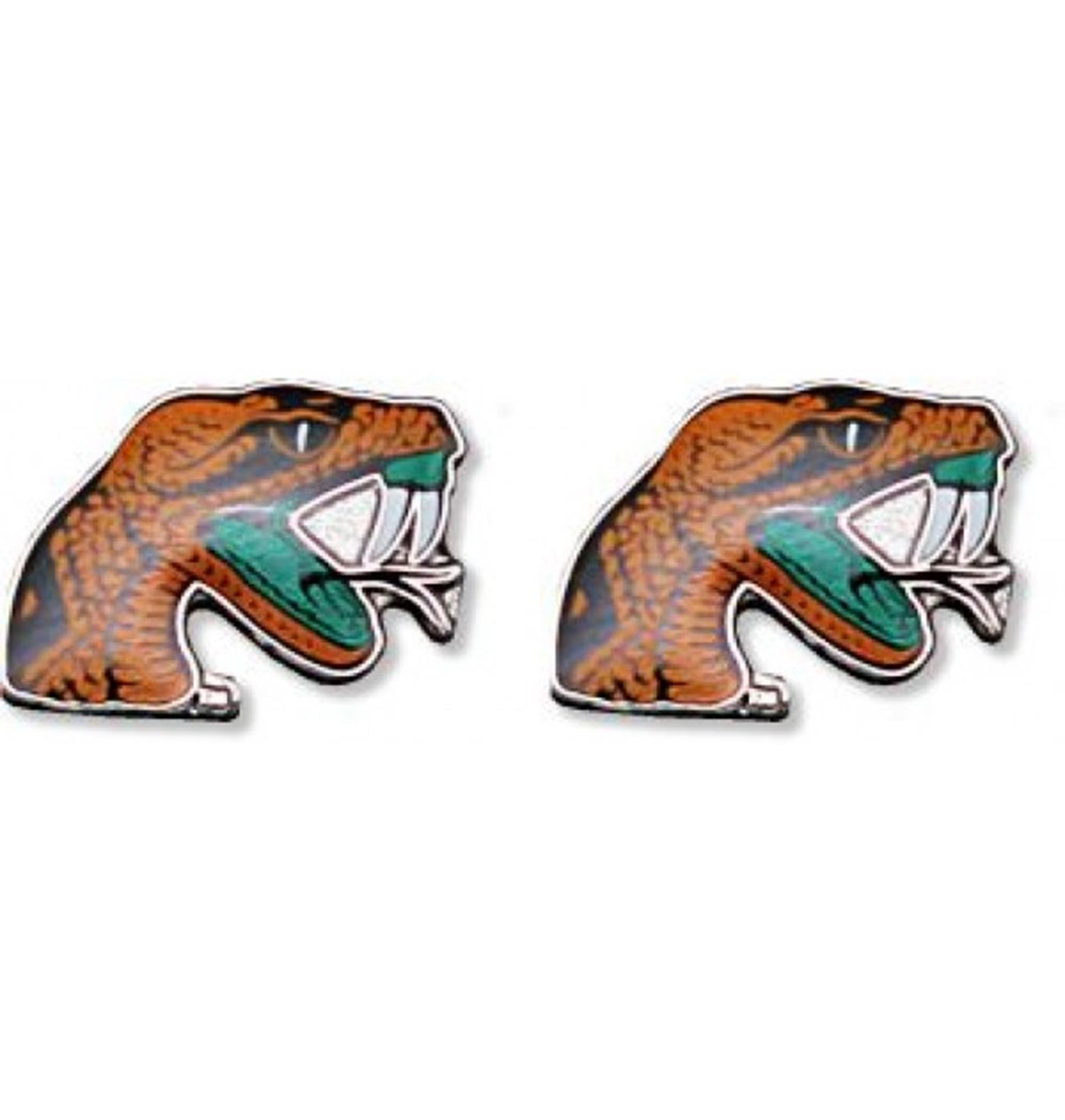 Florida A&M - NCAA Team Logo Post Earrings w/Gift Box