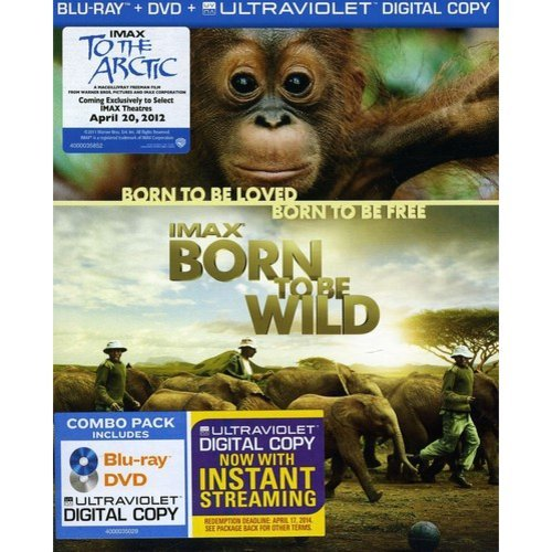 IMAX: Born To Be Wild (Blu-ray) (With INSTAWATCH) (Widescreen)