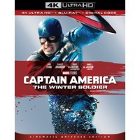 Captain America: The Winter Soldier (4K Ultra HD + Blu-ray + Digital)
