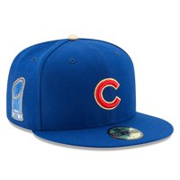 Chicago Cubs New Era 2017 Gold Program World Series Champions Commemorative 59FIFTY Fitted Hat - Royal