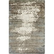 Surya SLI-6404 Slice of Nature Contemporary Abstract Olive 2' x 3' Area Rug