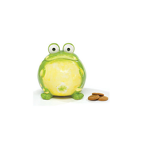 Burton + Burton Ceramic Toby Toad 105.8 qt. Cookie Jar by Toby The Toad Collection