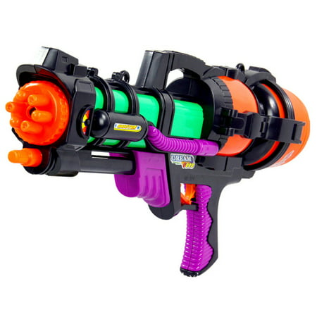 Backpack Water Gun (High Pressure Water Shooters Plastic Nozzle Squirt Water Gun Toy for)
