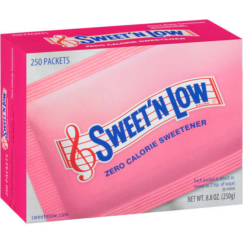 Sweet 'N Low Sweetener, 250ct
