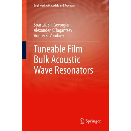 - Tuneable Film Bulk Acoustic Wave Resonators - eBook
