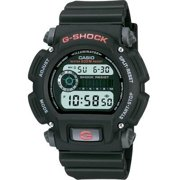 Casio Men's Digital Black and Grey Resin Strap G-Shock Watch DW9052-1V