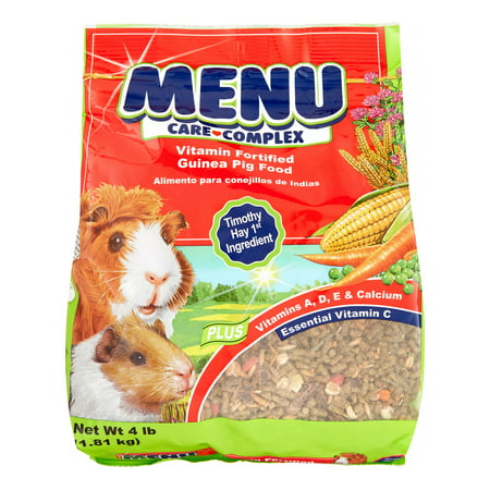 Vitakraft Menu Care Complex Guinea Pig Food, 4 lbs.