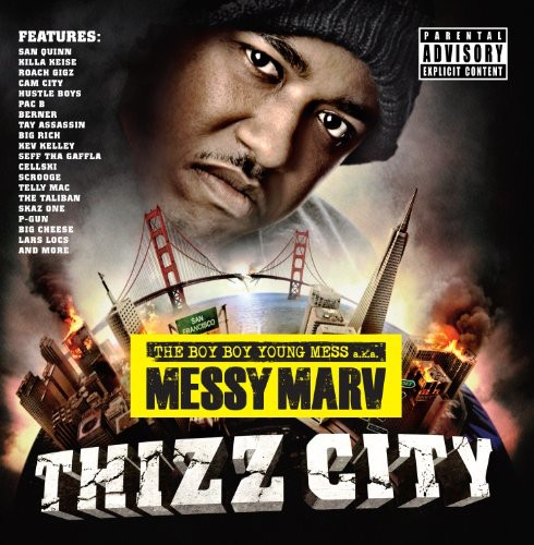 Messy Marv - Thizz City [CD]