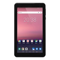 """EVOO 7"""" Android Tablet, Quad Core, 16GB Storage, Micro SD Slot, Dual Cameras, Android 8.1 Go Edition"""