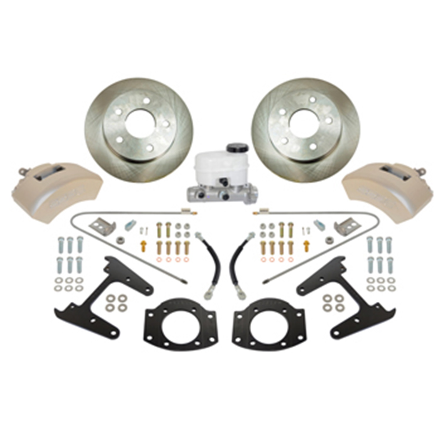 SSBC Performance Brakes A126-2 Drum To Disc Brake Conversion Kit