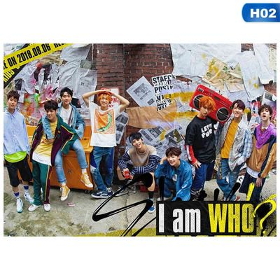 Fancyleo Kpop Stray Kids Mini Album I am YOU I am WHO Poster, Official Supported Poster for 2019 Artist Mini Poster