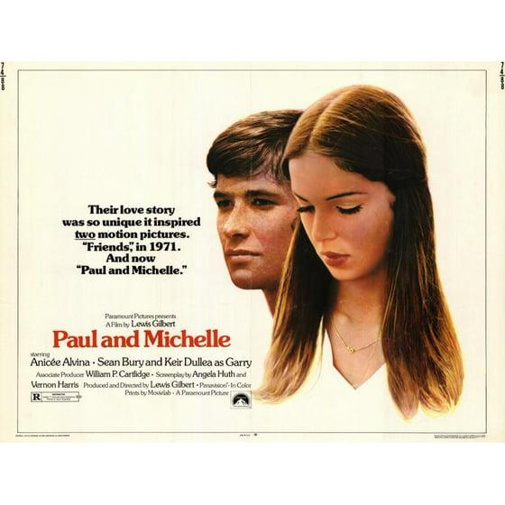 Paul And Michelle Poster Movie Mini Promo
