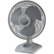 "Lasko D12900 12"" Oscillating Premium Table Fan 3-speed [white]"
