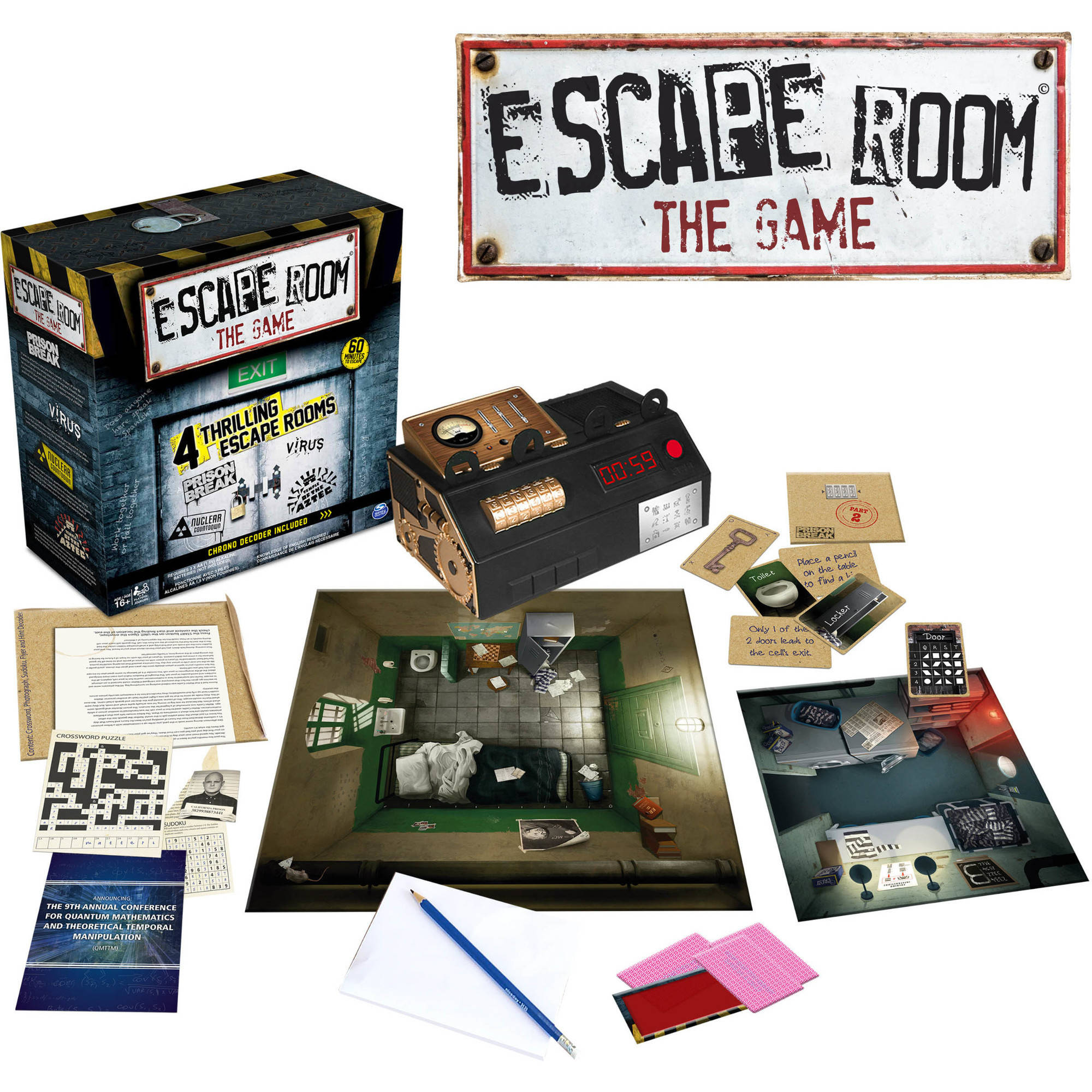Spin Master Games - Escape Room The Game 6034281