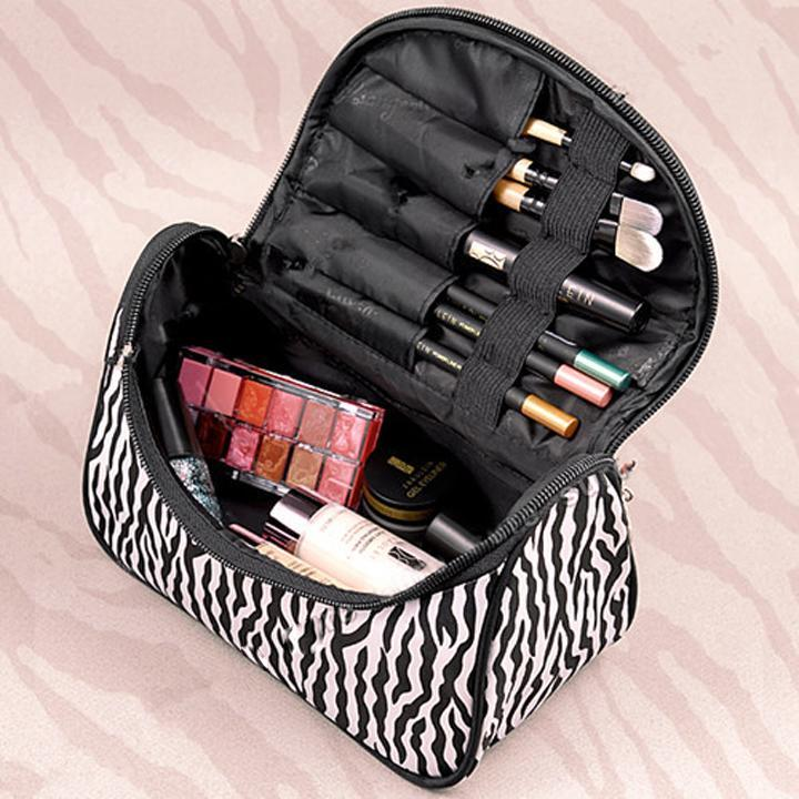 Lady Cosmetic Bag Makeup Case Toiletry Holder Storage