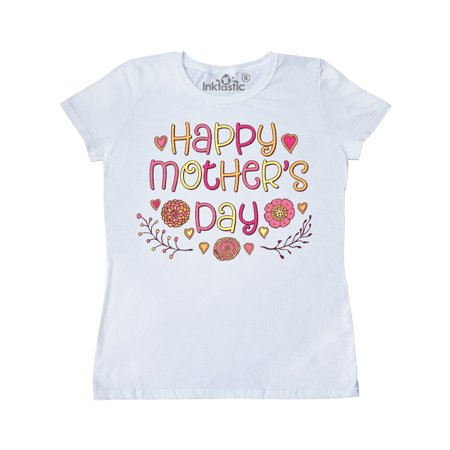 Happy Mothers Day vintage flowers Women's T-Shirt](Happy Mothers Fay)