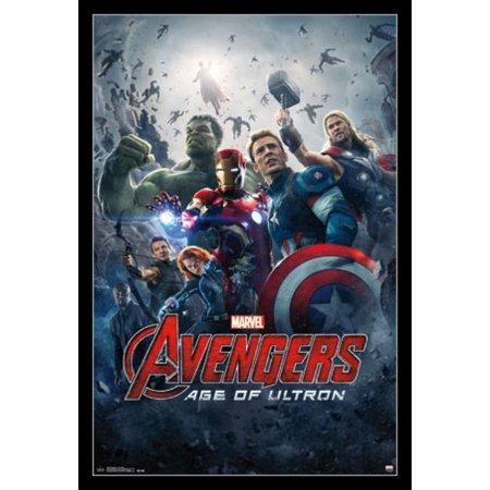 Marvel Avengers 2 Age of Ultron - One Sheet Poster Print - Walmart.com