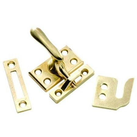 Brass Window Lock Casement Fastener - Casement Window Lock - Polished Brass