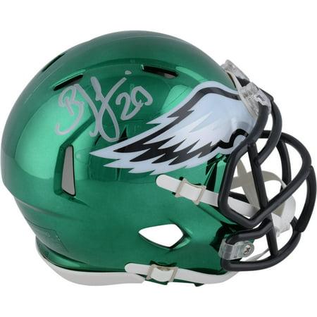 Brian Dawkins Philadelphia Eagles Autographed Riddell Chrome Alternate Speed Mini Helmet - Fanatics Authentic Certified