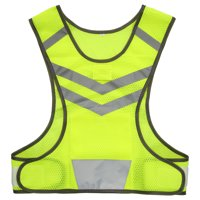 Outdoor Sports Running Reflective Vest Adjustable Lightweight Mesh Safety Gear for Women Men Jogging Cycling Walking