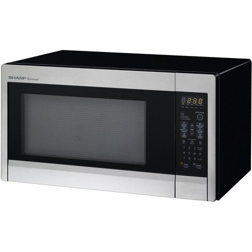 Sharp R 431zs 1 3 Cu Ft 1000w Touch Microwave With 12 88