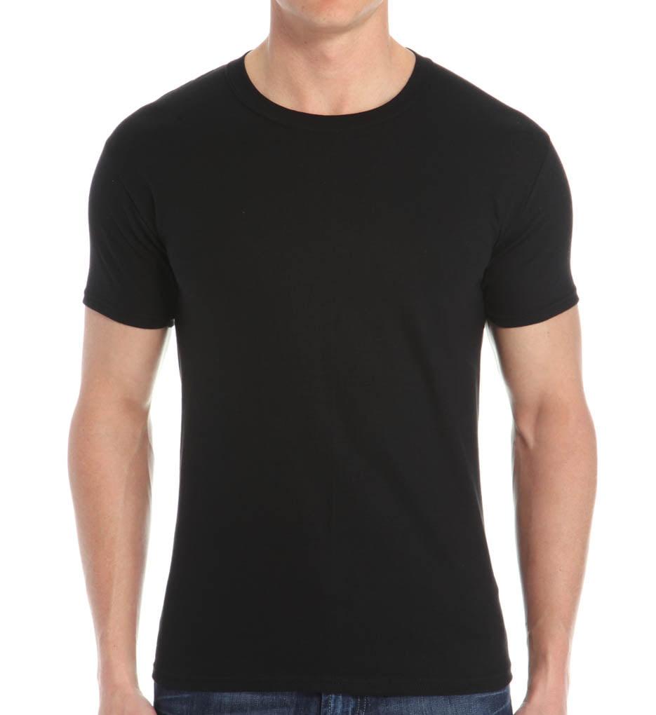 Black t shirt hanes - Black T Shirt Hanes 16