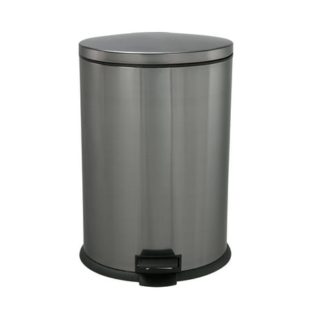Rubbermaid 50 gallon wheeled roughneck trashcan black - Better homes and gardens trash can ...