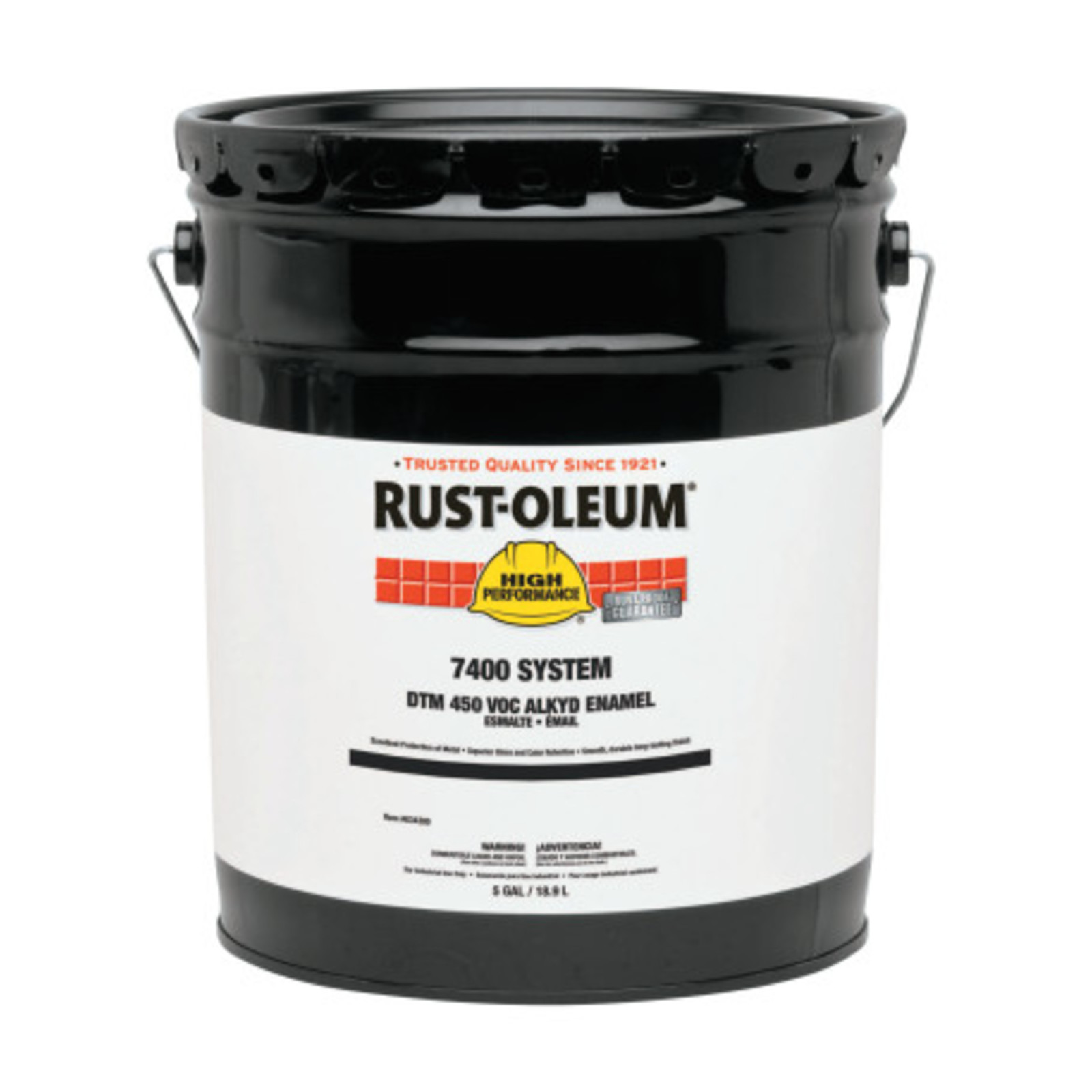 High Performance 7400 System DTM Alkyd Enamels, 1 Gallon Can, Flat White