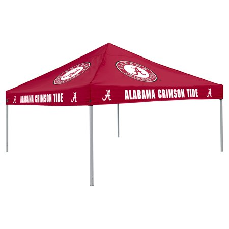 Logo Chair NCAA Alabama 9' x 9' Solid Color Tent, Sleeps 4
