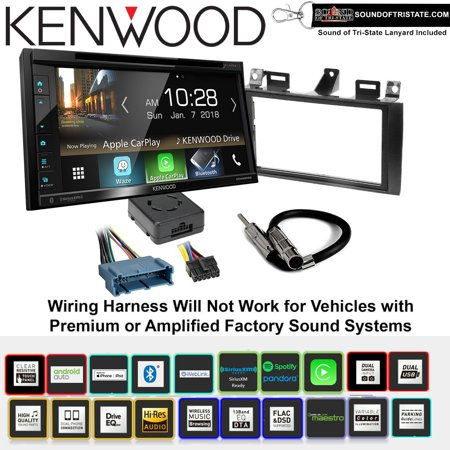 Kenwood eXcelon DDX6905S DVD Receiver Install Kit with Apple CarPlay on mustang convertible wiring harness, vue wiring harness, enclave wiring harness, cj5 wiring harness, camry wiring harness, pt cruiser wiring harness, grand marquis wiring harness, crown victoria wiring harness,