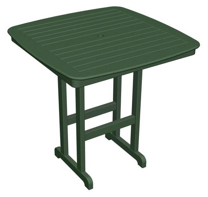 Eco friendly Bar Table in Green