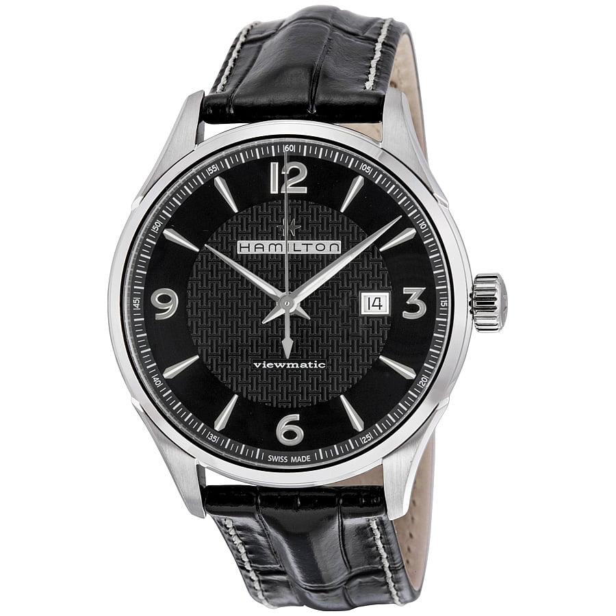 Hamilton Jazzmaster Automatic Black Dial Mens Watch H32755731 by Hamilton
